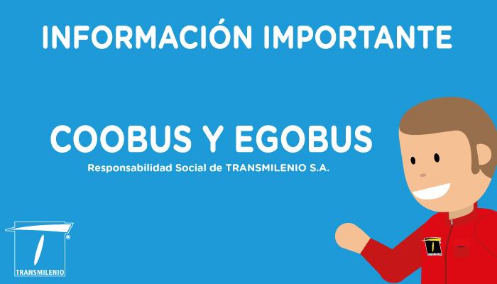 Información importante para los propietarios afectados por las empresas en liquidación, COOBUS y EGOBUS