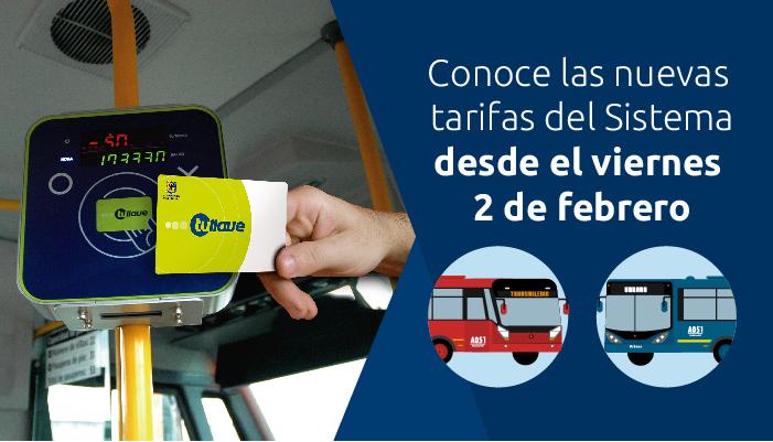 Imagen de una tarjeta tullave en la entrada  en un bus del SITP