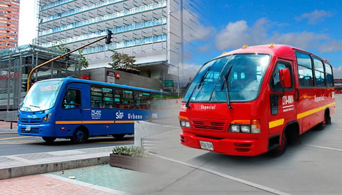 Bus Zonal y bus Especial