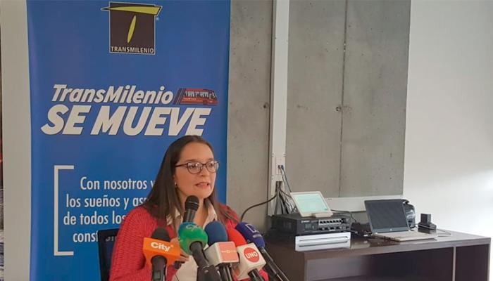 Julia Rey, Subgerente Jurídica de TRANSMILENIO S.A.