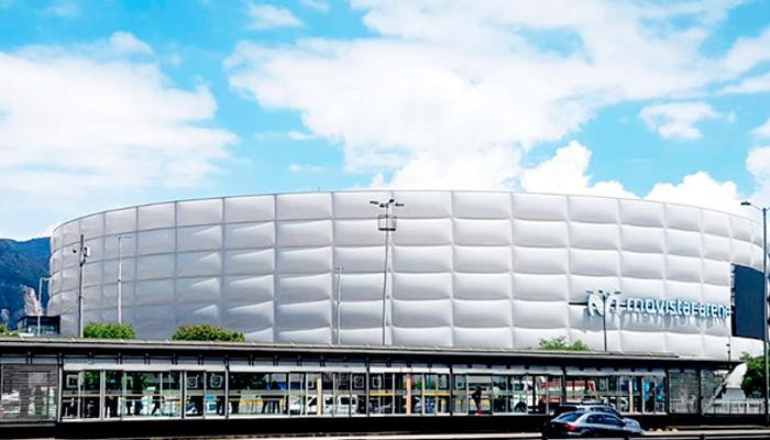 Foto de la estación Movistar Arena renovada