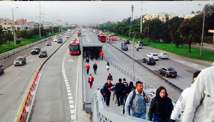 Ciudadanía recibió con satisfacción ampliación de estación Toberín Puente de acceso  a la estación toberín