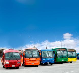 Flota de buses  de TransMilenio