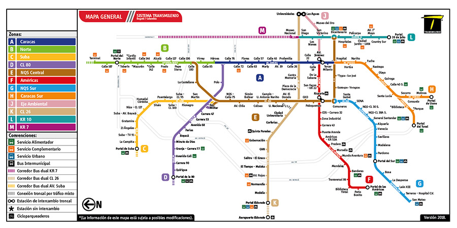 Plano de estación