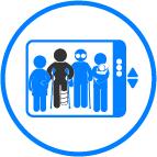 Espacios Prioritarios- Ascensores