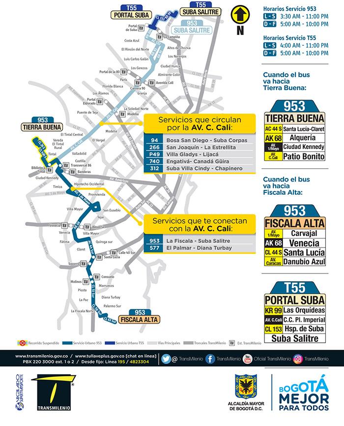 Ruta urbana 953