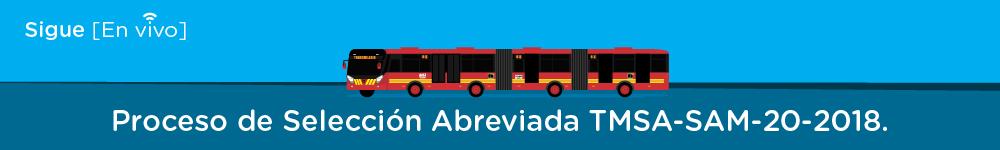 Bus de TransMilenio ilustrado