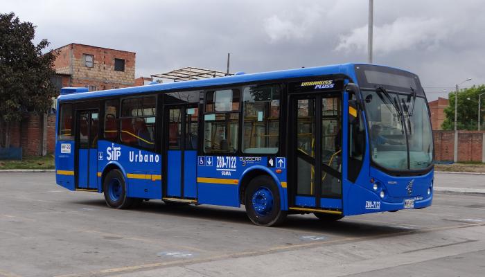 Bus Urbano del SITP
