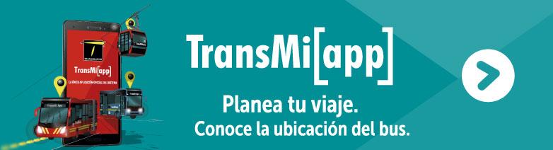 Conoce la ubicación del bus con TransMiApp