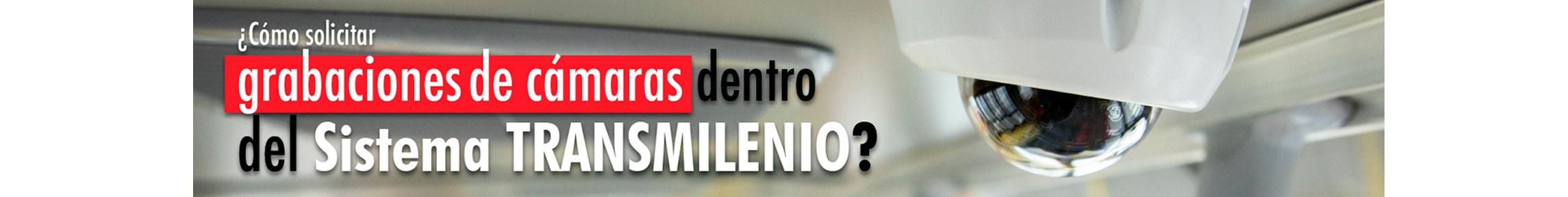 """Solicitud de permisos para grabar en el Sistema TransMilenio. Categoría crónicas """"SmartFilms"""