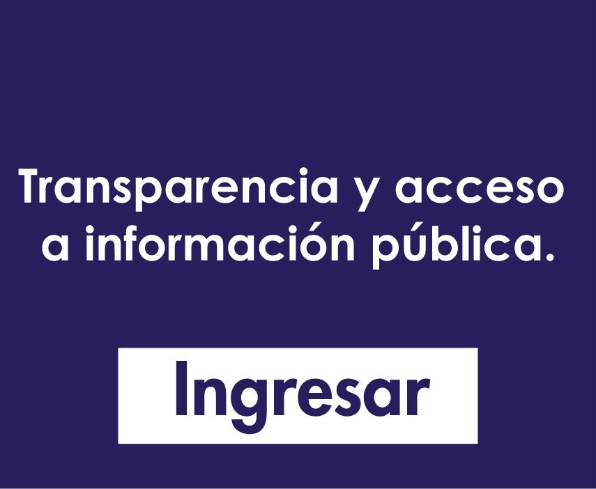 Trasparencia y acceso a informacion