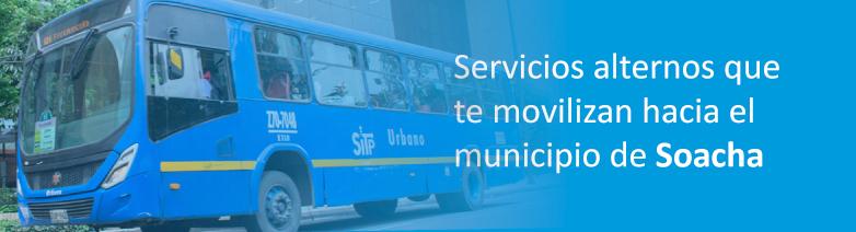 Nuevo servicio temporal en el Portal Sur a Terreros en Soacha