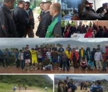 La empresa concesionaria ORGANIZACIÓN SUMA realizó brigadas de prevención y sensibilización en la localidad de Ciudad Bolívar.