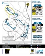 Ruta urbana 142 Engativá Centro amplia su recorrido al Palmar