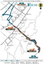 Desde el 12 de diciembre de 2016 el servicio  complementario 15-7 Calle 11 Sur suspende su operación, sin embargo la ruta 228 Villa Teresita- Aguas Claras permite la conexión con la calle 11 Sus, AK 10 y AV Caracas.
