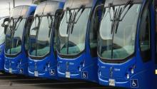 Flota de buses SITP