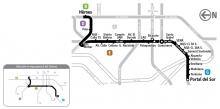 Mapa del servicio 4