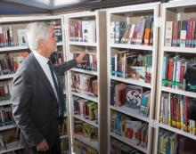 Alcalde en las Biblioestaciones