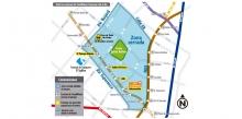 Mapa de servicios zonales para el 7 de septiembre de 2017