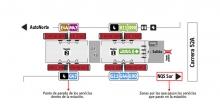 Mapa de Estaciones-vagones