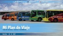 Portada de mi plan de viaje de TransMilenio