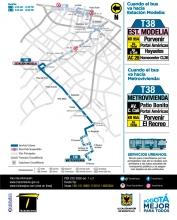 Ruta urbana T38 ajuste