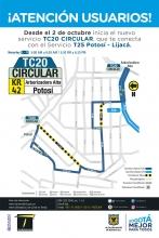 Ruta nueva TC20