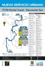 TC19  nueva ruta