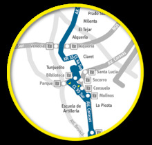 Mapa E44 Actualmente