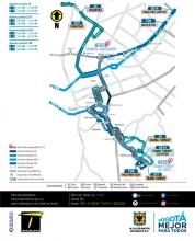 Suspensión de la ruta TC15