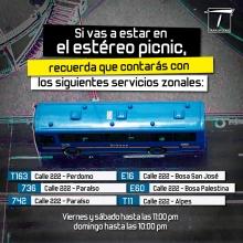 Bus del SITP Estacionado