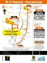 Extensión ruta 18-2