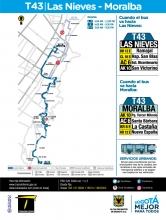 Ajuste de la ruta T43