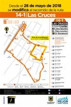 Ajuste ruta 14-1 Las Cruces