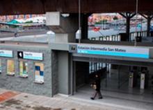 Estación san Mateo