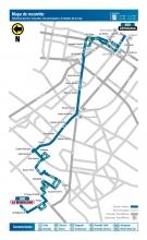 Mapa de la ruta 688