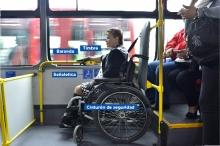 Persona silla de rueda