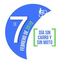 Logo para el día sin carro 2019