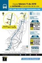 Afiche ruta 165
