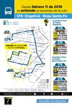 Afiche ruta 576
