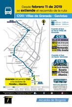 Afiche ruta C120