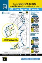Afiche ruta 172