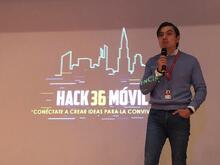Inicio de la Hack36Móvil