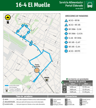 Mapa 16-4 El Muelle