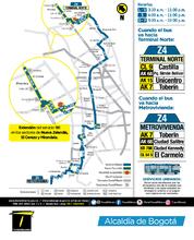 Información de la ruta Z4