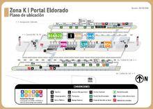 Plano del portal ElDorado anterior al 6 de julio de 2019