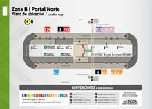 Plano del portal el norte organización de servicios