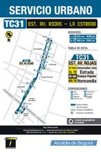 Información de la ruta TC31