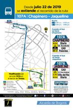 Información de la ruta 107A