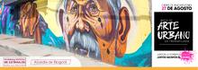 Mural de lal ocalidad de Ciudad Bolívar- convocatorias